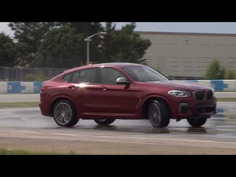 The new BMW X4 M40d Driving Video at the Performance Center