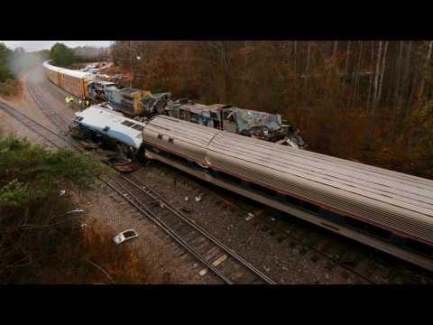Amtrak Crash Kills 2, Injures 116 In South Carolina