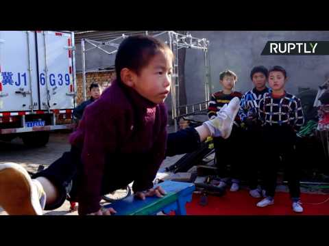 Welcome to Wuqiao, the Town Where Toddlers Train to Become Acrobats