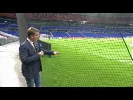 OL Hoffenheim Des Filets De Protection Installes Au Groupama Stadium