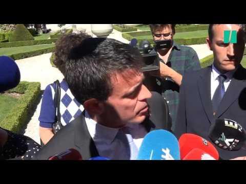 """""""Vous vous rendez compte du spectacle que vous donnez?"""", l'arrivée tendue de Valls à l'Assemblée"""