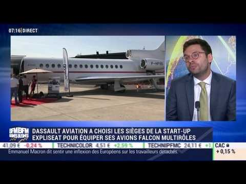 Dassault Aviation collabore avec Expliseat - 23/06