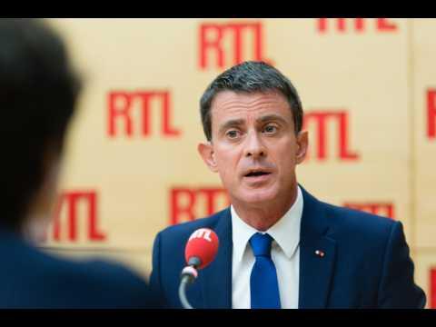 """Manuel Valls : """"Je quitte le Parti socialiste"""""""
