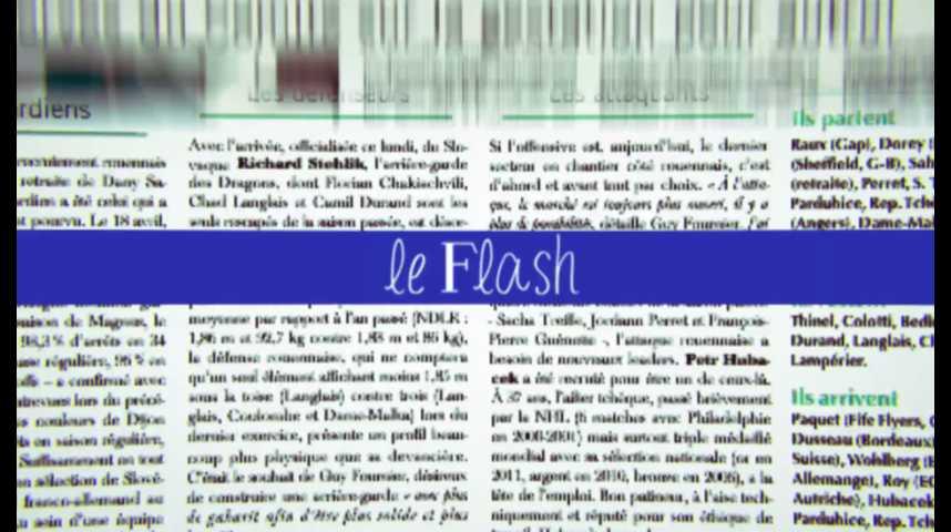 Le Flash du 8 juillet