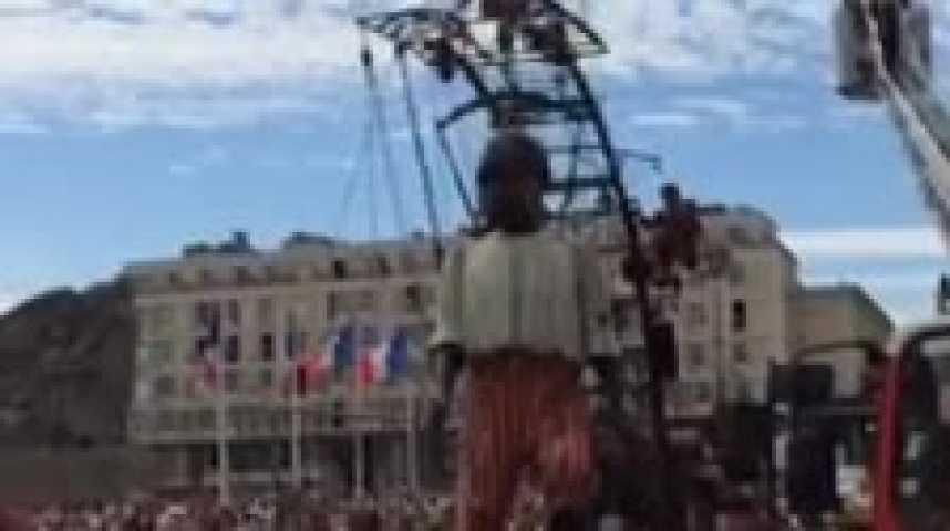 Les Géants de Royal de Luxe au 500e anniversaire duHavre