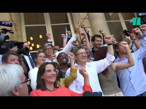 Mélenchon multiplie les coups d'éclats pour son arrivée à l'Assemblée nationale