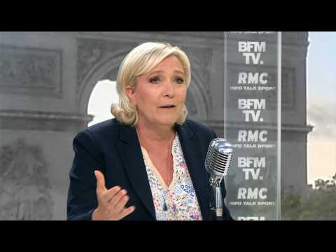 """""""Préparation insuffisante"""", """"agenda trop chargé""""… Marine Le Pen évoque les raisons de son débat raté face à Emmanuel Macron"""