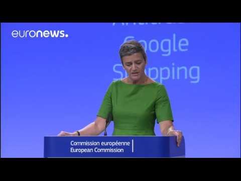 L'UE inflige à Google une amende record de 2,42 milliards d'euros