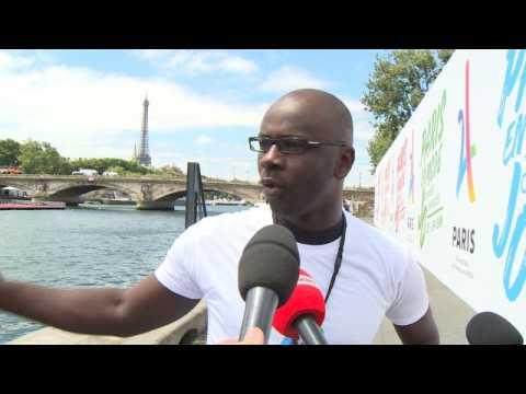 Paris 2024 - Thuram : ''Des structures que les enfants pourront réutiliser''