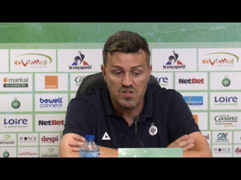 ASSE - García : ''Je suis très offensif''