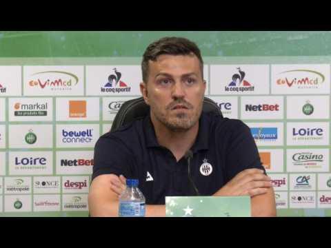 ASSE - García : ''Galtier a fait du très bon travail ici''