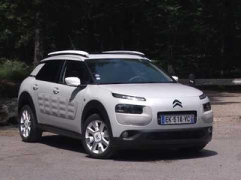 Essai Citroën C4 Cactus 1.2 PureTech 110 EAT6 One Tone (2017)