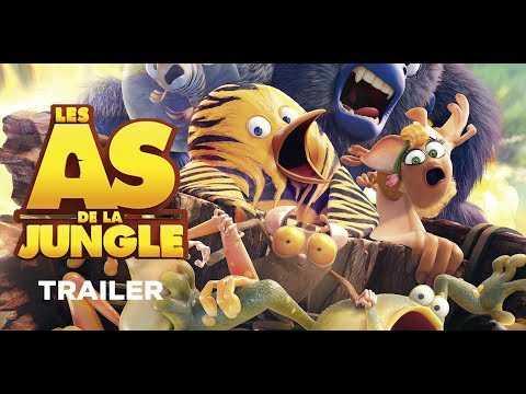 Les As de la Jungle Trailer (Sortie : 09/08/2017)
