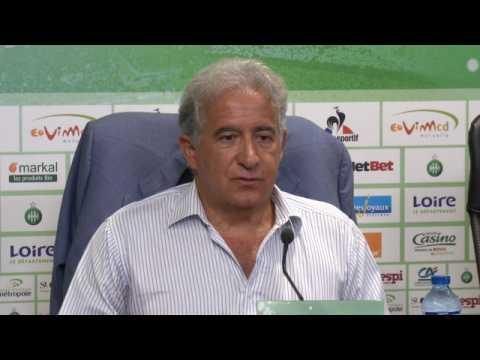 ASSE - Caïazzo : ''Solidaire de nos supporters Ultras''