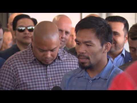 BOXE - Pacquiao : ''Je pense que Mayweather l'emportera''
