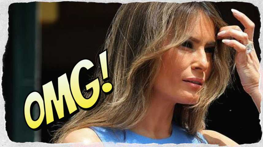 Melania Trump : Son fessier affole les médias !
