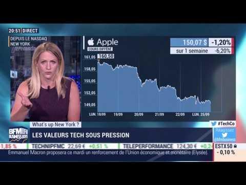 What's up New York: Les valeurs tech sous pression - 25/09