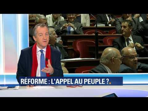 """ÉDITO - """"Pour Macron, oui le référendum peut être intéressant"""""""