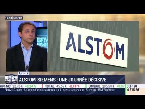 Alstom-Siemens: Une journée décisive - 26/09