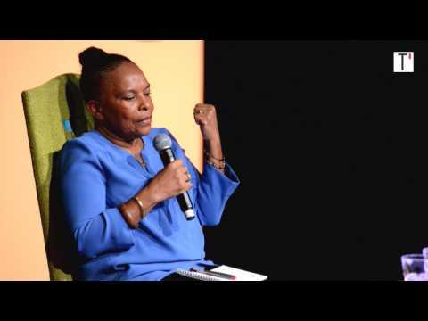 """Christiane Taubira : """"Je suis une planète, ouverte au monde et disponible"""""""