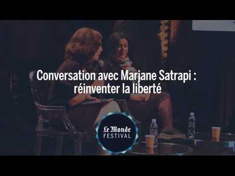 Conversation avec Marjane Satrapi : réinventer la liberté
