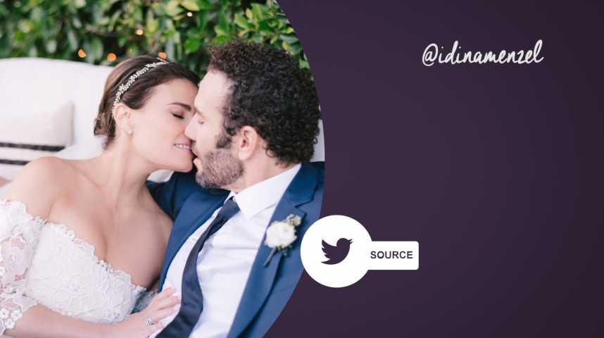 Idina Menzel, star de Frozen, s'est mariée lors d'une cérémonie privée !