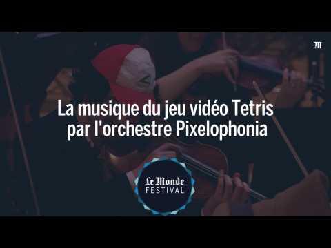 La musique du jeu vidéo Tetris par l'orchestre Pixelophonia