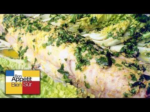 [Recette] Merlu Entier En Court Bouillon - Chef Alain Dutournier