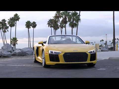2017 Audi R8 Spyder Exterior Design