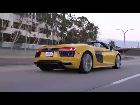 2017 Audi R8 Spyder Driving Video