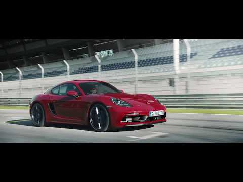 Porsche 718 Boxster GTS and 718 Cayman GTS Press film