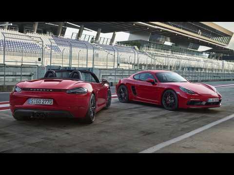 Les Porsche 718 Boxter GTS et 718 Cayman GTS