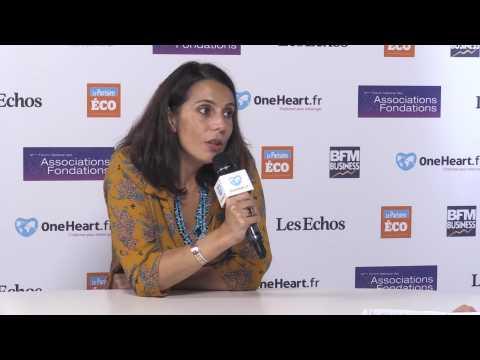 Sophie ROUXEL, Commissaire générale du Forum Nationale des Associations & Fondations