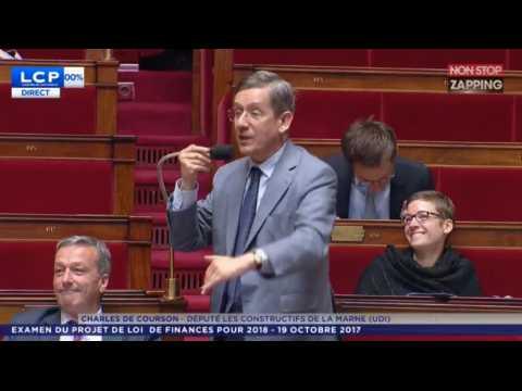 Le craquage d'un député sur la cocaïne à l'Assemblée nationale (Vidéo)