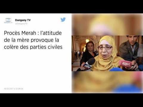 Procès Merah : le témoignage de la mère provoque la colère des parties civiles