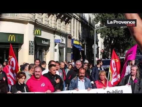 """Manif CGT à Marseille : """"Continuer à expliquer les préoccupations"""" (Martinez)"""