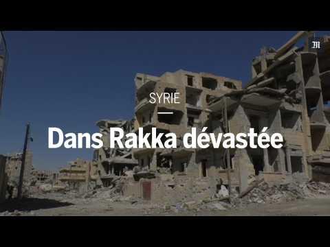 Des images de Rakka dévastée