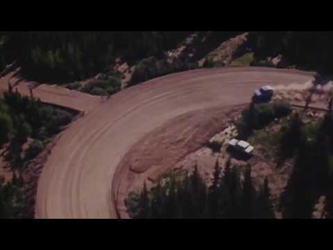 Volkswagen at the Pikes Peak mountain race in Colorado Springs,USA