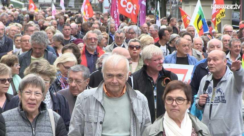 Les retraités contre la hausse de la CSG
