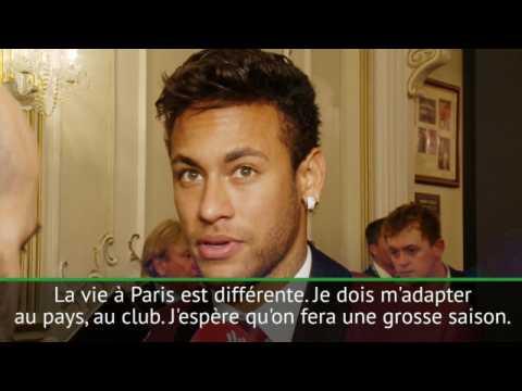 The best FIFA Awards - Neymar : ''Je dois m'adapter à Paris''