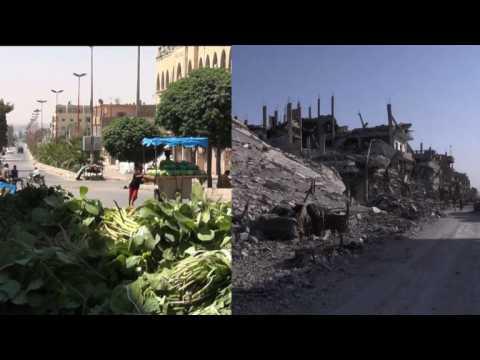 En ruines, Raqa face à l'immense défi de la reconstruction