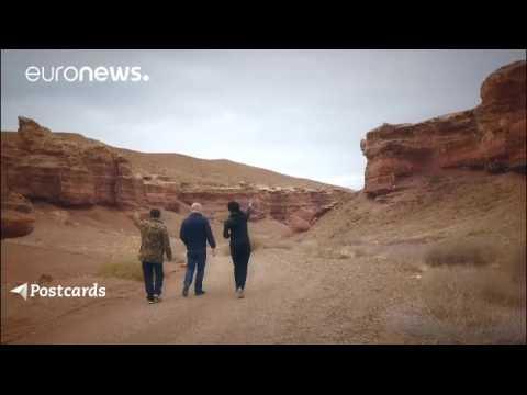 Au Kazakhstan, le canyon de Charyn ressemble à l'Arizona