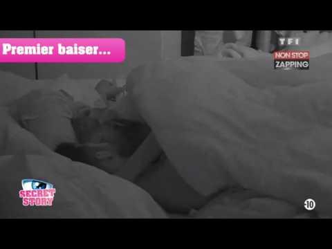 Secret Story 11 : Baiser torride entre Barbara et Benjamin sous la couette (Vidéo)