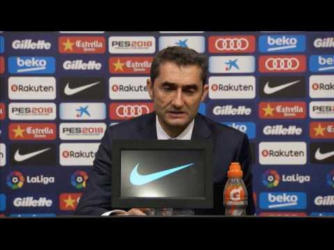 FOOTBALL: LIGA: E. VALVERDE: ''Nous avons été en contrôle du jeu''