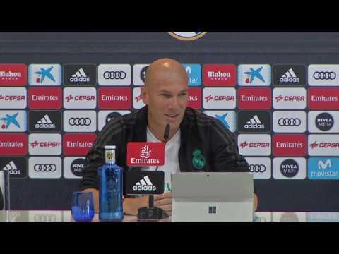 """Real Madrid - Zidane: """"Je ne suis pas le meilleur entraîneur du monde"""""""