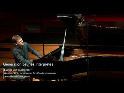 Beethoven   Sonate n° 27 en mi mineur op. 90, 1 mvt - Jean-Michel Dubé
