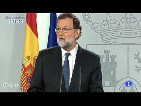 Catalogne: Mariano Rajoy annonce le recours à l'article 155 permettant de suspendre l'autonomie