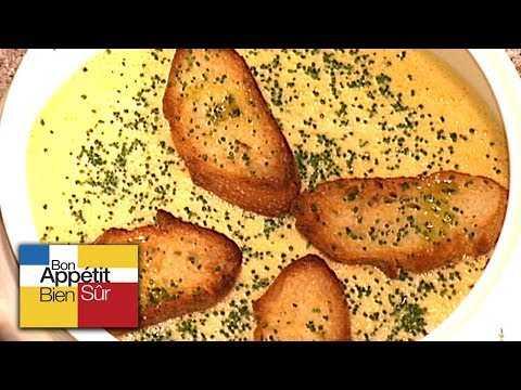 [Recette] Velouté de Potiron Au Jambon De Pays - Chef Patricia Gomez