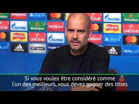 """Groupe F - Guardiola : """"de Bruyne est l'un des meilleurs"""""""