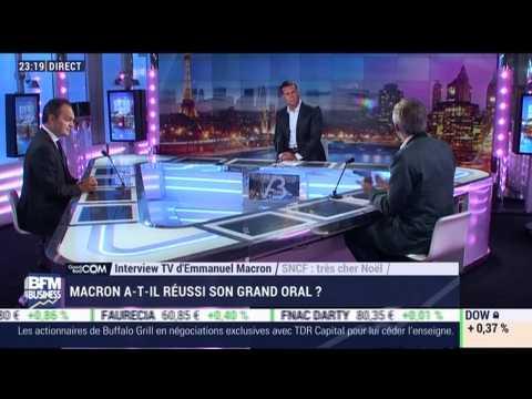 Good Com' / Bad Com': Macron a-t-il réussi son grand oral ? - 16/10